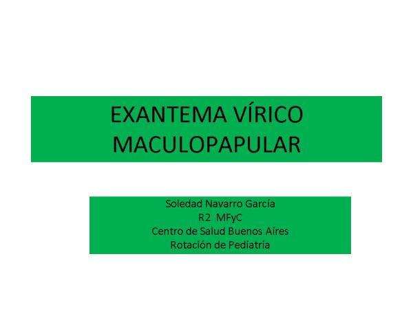 EXANTEMAS MACULOPAPULARES soledad (2)